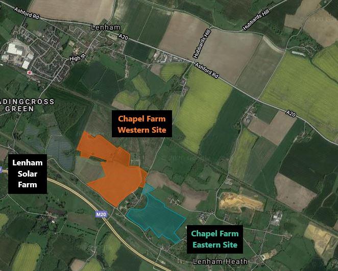 Chapel Farm map